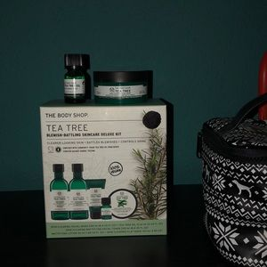 the body shop tea tree skincare deluxe set